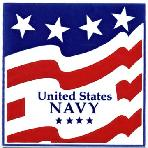 Armed Forces and Military Gift Tile Wall Plaques, U.S. Navy Wall Plaque by Besheer Art Tile